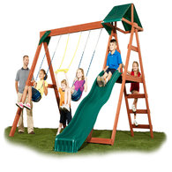 Swing-N-Slide McKinley Wood-Complete Play Set