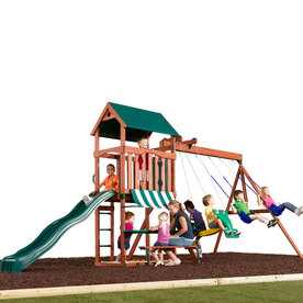 Swing-N-Slide Glenwood Plus Residential Wood Playset