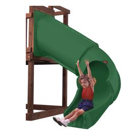 Swing-N-Slide Twister Tube Green Slide