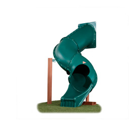 Swing-N-Slide Tunnel Twister Green Slide