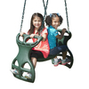 Swing-N-Slide Grandview Twist Complete Wood Playset with Swings