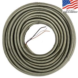 125-ft 10/2 Aluminum BX Cable