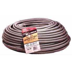 250-ft 12/2 Steel BX Cable