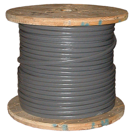 Southwire 6-6-6-6 Aluminum SER Service Entrance Cable (By-the-Roll)