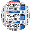 250-ft 14-4 Indoor Non-Metallic Wire (By-the-Roll)