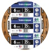 25-ft 6-Gauge Solid Soft Drawn Copper Bare Wire