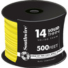 500-ft 14 AWG Solid Yellow THHN Wire (By-the-Roll)