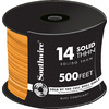 500-ft 14 AWG Solid Orange THHN Wire
