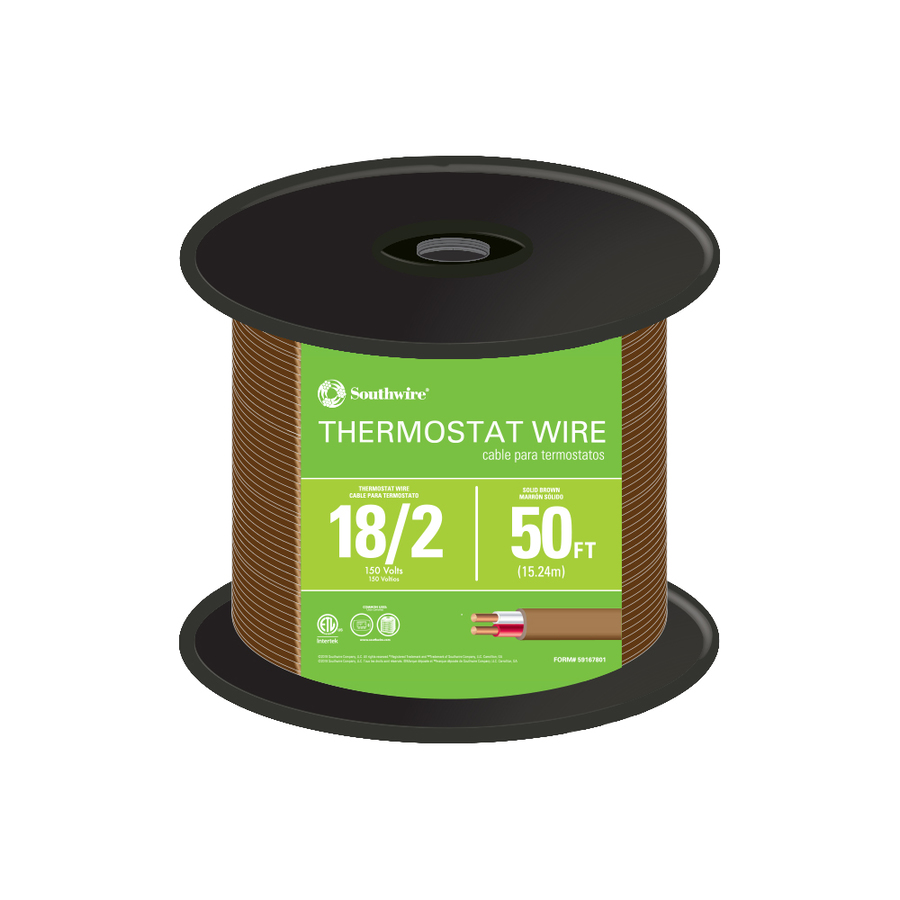 Awg 2 Conductor Thermostat Wire By The Roll