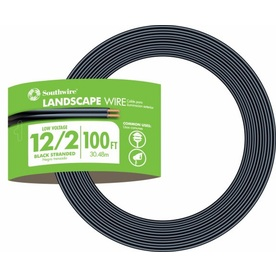 Southwire 100-ft 12-Gauge 2-Conductor Landscape Lighting Cable
