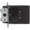 34-cu in 2-Gang Plastic Adjustable Wall Electrical Box