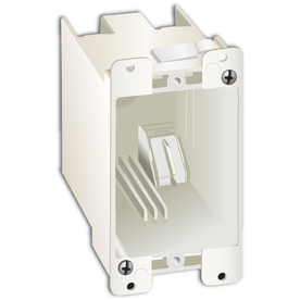 20-cu in 1-Gang Plastic Old Work Wall Electrical Box