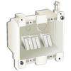 25 cu in 2-Gang Old Work Plastic Electrical Box