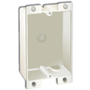 8-cu in 1-Gang Plastic Old Work Wall Electrical Box