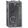 12-cu in 1-Gang Plastic Handy Wall Electrical Box