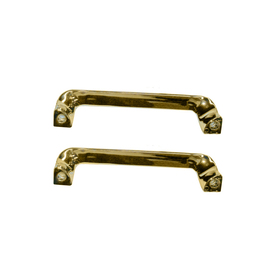 American Standard 8-1/8-in Polished Brass Grab Bar