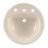 American Standard Rondalyn Linen Drop-In Round Bathroom Sink with Overflow