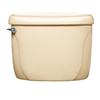 American Standard Cadet Bone 1.6-GPF (6.06-LPF) 12-in Rough-In Pressure Assist Single-Flush Toilet Tank