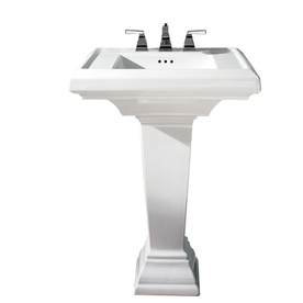36 Pedestal Sink : Home Bathroom Bathroom & Pedestal Sinks Pedestal Sinks