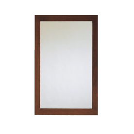 American Standard 34-in H x 22-in W Brook Cognac Rectangular Bathroom Mirror