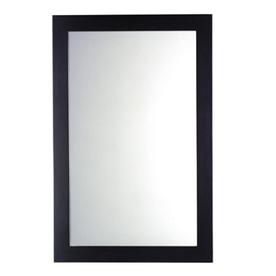 American Standard 34-in H x 22-in W Cardiff Espresso Rectangular Bathroom Mirror