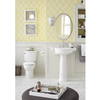 American Standard Retrospect 28.25-in H White Fireclay Pedestal Sink Base