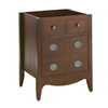 American Standard Jefferson Autumn Cherry Contemporary Bathroom Vanity (Common: 24-in; Actual: 24-in x 25-in)