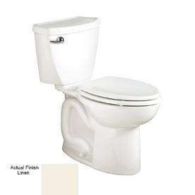 Shop American Standard Cadet 3 Linen 1.6 GPF Elongated 2-Piece Toilet ...