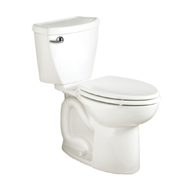 American Standard Cadet 3 White 1.6 GPF Elongated 2-Piece Toilet