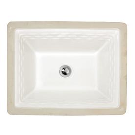 Shop american standard portsmouth white undermount - American standard undermount bathroom sinks ...