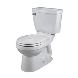 American Standard Champion 4 White 1.6 GPF Round 2-Piece Toilet