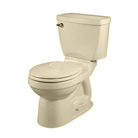 American Standard Champion 4 Bone 1.6-GPF (6.06-LPF) 12-in Rough-In Round 2-Piece Standard Height Toilet