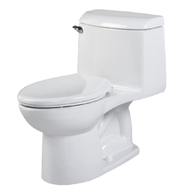 American Standard Champion 4 White 1.6-GPF (6.06-LPF) 12-in Rough-In Elongated 1-Piece Comfort Height Toilet