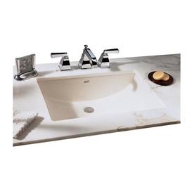 Shop american standard studio cream natural marble - American standard undermount bathroom sink ...