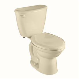 American Standard Colony Bone 1.6 GPF Elongated 2-Piece Toilet