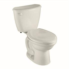 American Standard Colony Linen 1.6-GPF (6.06-LPF) 10-in Rough-In Elongated 2-Piece Comfort Height Toilet