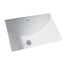 American Standard Studio White Undermount Rectangular Bathroom Sink with Overflow