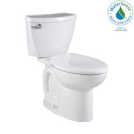 American Standard Cadet 3 White 1.28-GPF (4.85-LPF) 12-in Rough-in WaterSense Elongated 2-Piece Standard Height Toilet