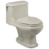 American Standard Antiquity Linen 1.6 GPF Elongated 1-Piece Toilet