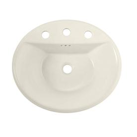 Shop American Standard Tropic Linen Drop In Oval Bathroom