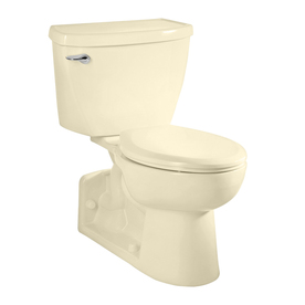 American Standard Yorkville Bone 1.1-GPF (4.16-LPF) 12-in Rough-In WaterSense Elongated Pressure Assist 2-Piece Comfort Height Toilet