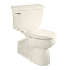 American Standard Yorkville Linen 1.1-GPF (4.16-LPF) 12-in Rough-in WaterSense Elongated Pressure Assist 2-Piece Comfort Height Rear Outlet Toilet