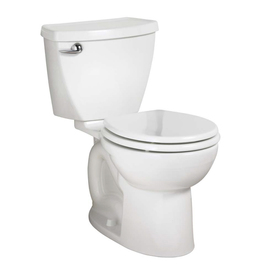American Standard Cadet 3 White 1.6 GPF Round 2-Piece Toilet