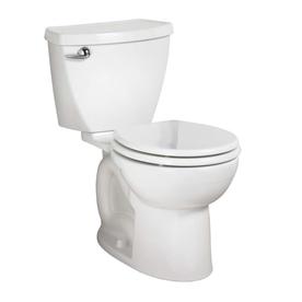 American Standard Cadet 3 White 1.6 GPF Round 2-Piece Comfort Height Toilet
