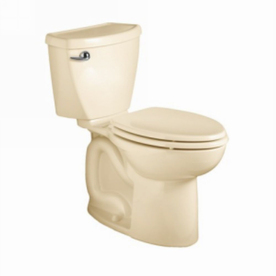 American Standard Cadet 3 FloWise Bone 1.6 GPF WaterSense Elongated 2-Piece Toilet