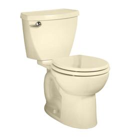 American Standard Cadet 3 FloWise Bone 1.28 GPF WaterSense Round 2-Piece Comfort Height Toilet