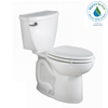 American Standard Cadet 3 White 1.28 GPF High Efficiency WaterSense Elongated 2-Piece Toilet