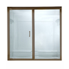 American Standard 43-in Frameless Pivot Shower Door