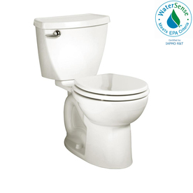 American Standard Cadet 3 White 1.28-GPF (4.85-LPF) 12-in Rough-in WaterSense Round 2-Piece Standard Height Toilet