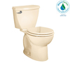 American Standard Cadet 3 Bone 1.28-GPF (4.85-LPF) 12-in Rough-in WaterSense Round 2-Piece Standard Height Toilet